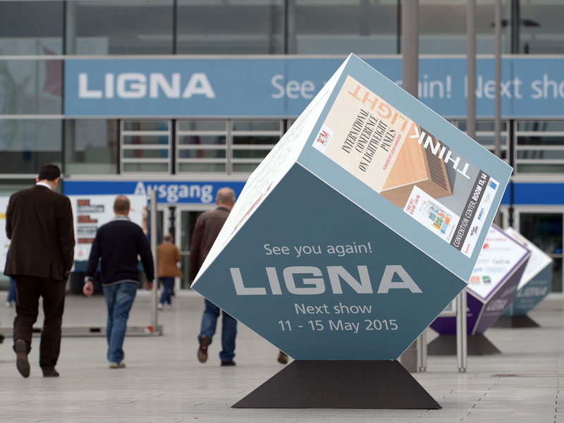 LIGNA 2015 - главная выставка деревообрабатывающей отрасли
